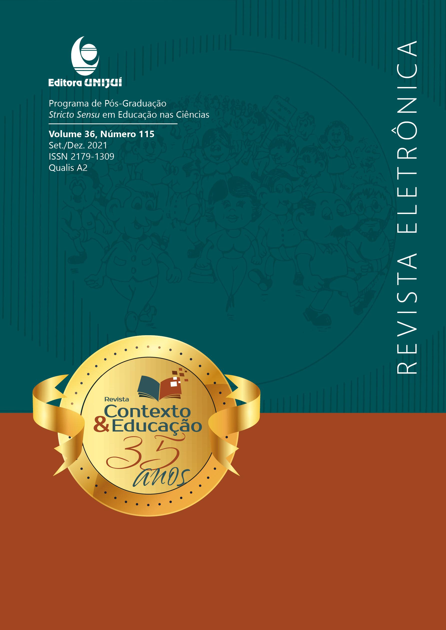 Visualizar v. 36 n. 115 (2021): Formação docente e ensino nas diversas áreas do conhecimento